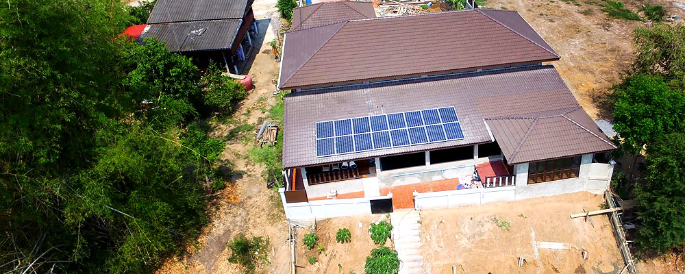 Solar Rooftop : Self Comsumption 4 kWp